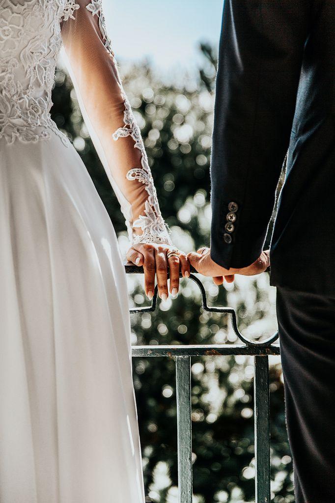 Freundschaftsbaum Braut und Bräutigam